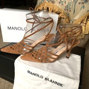 Manolo Blahnik size 7.5